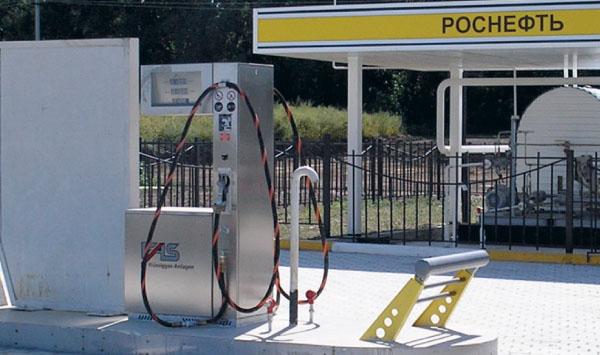 FAS поставляет комплектные газовые заправочные станции 230 В, 50