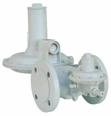 16101 FAS Регулятор давления газа с фланцевым соединением DIN 2635